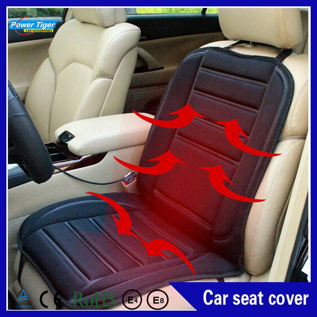 Car styling 12v High Quality winter car heated pad car heated seat cushion electric heating pad, car heated seat covers