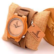 Luxulry BOBOBIRD мужская Марка Дизайнер Часы Старинные Деревянные Часы Кожаный Ремешок Кварцевые Часы в Подарочной Коробке