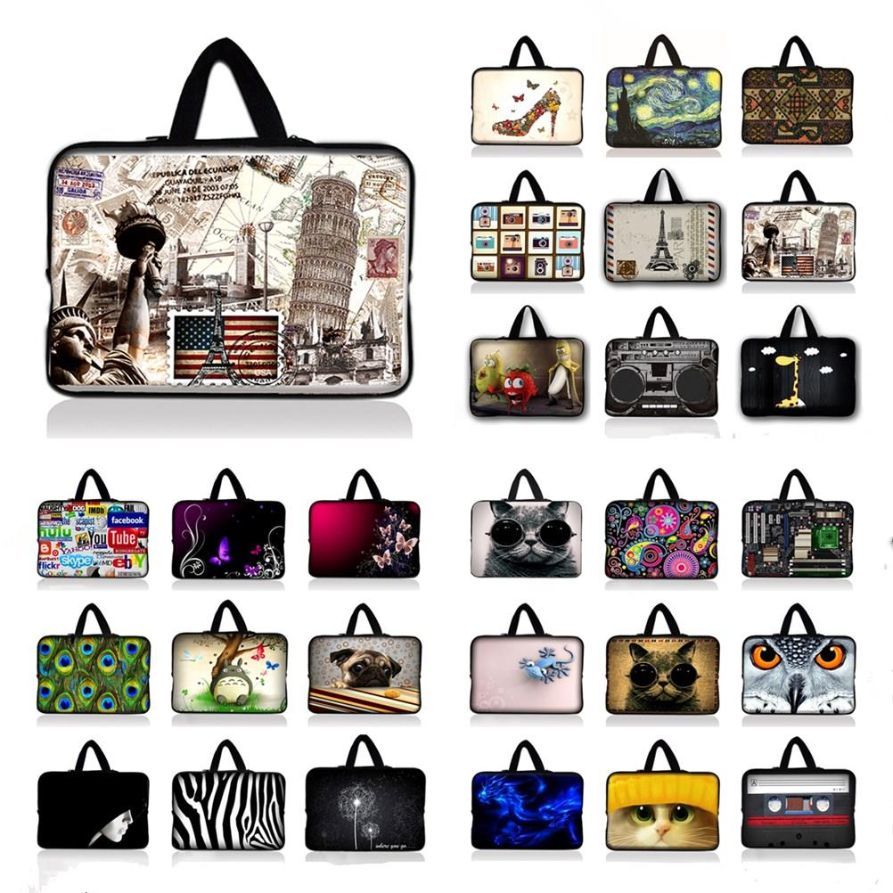 7 9.7 12 13.3 14.4 15.6 17.3 inch Handle Laptop Sleeve Bag Notebook Smart Cover Tablet PC Sleeve Case For Macbook Air/Pro/Retina