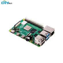 DIYmall Raspberry Pi 4 Model B 1G 2G 4G Ram 1.5GHz 64-bit Quad-core 2019 Latest Version raspberry pi 3 model b 1gb ram quad core 1 2g 64 bit cpu bluetooth wifi on board