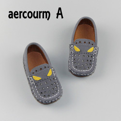 Aercourm a 2017 summer kids sandals boys hollow shoes breathable children genuine leather shoes little monster.jpg 250x250