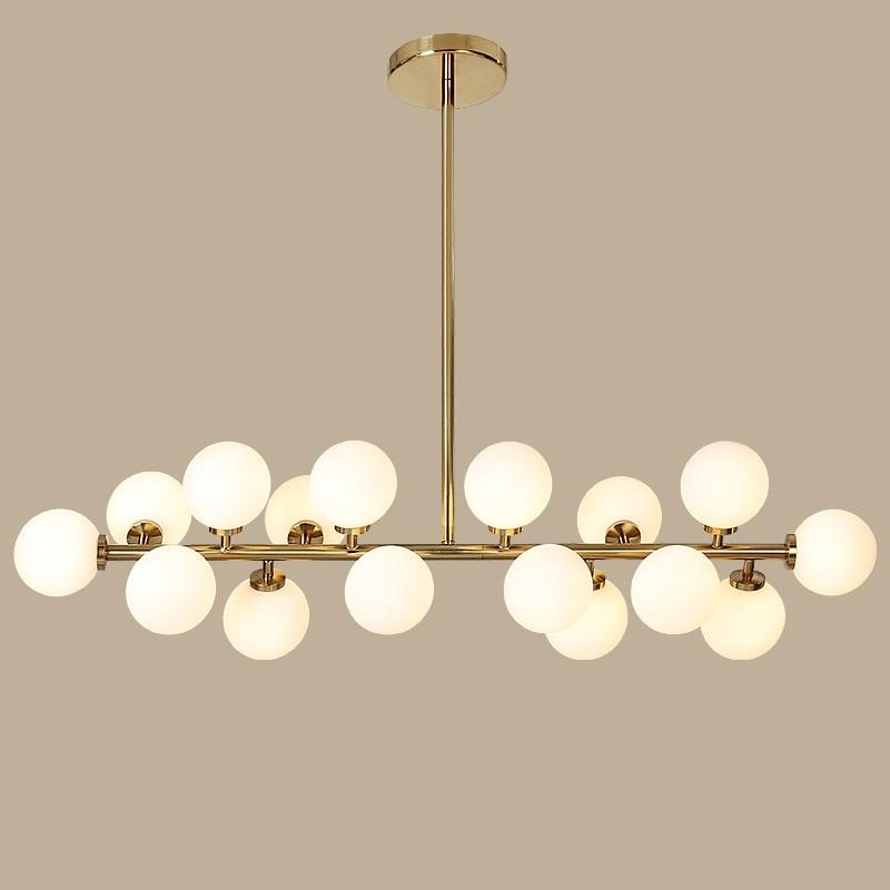 Vintage Loft Industrial chandelier black Gold Bar Stair ...