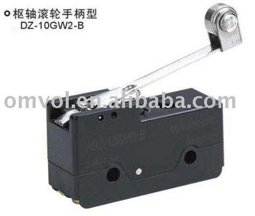 Switches High Quality Dpdt Micro Switch Dz-10gw2-1b,hinge Roller Lever,free Shipping !! Lights & Lighting