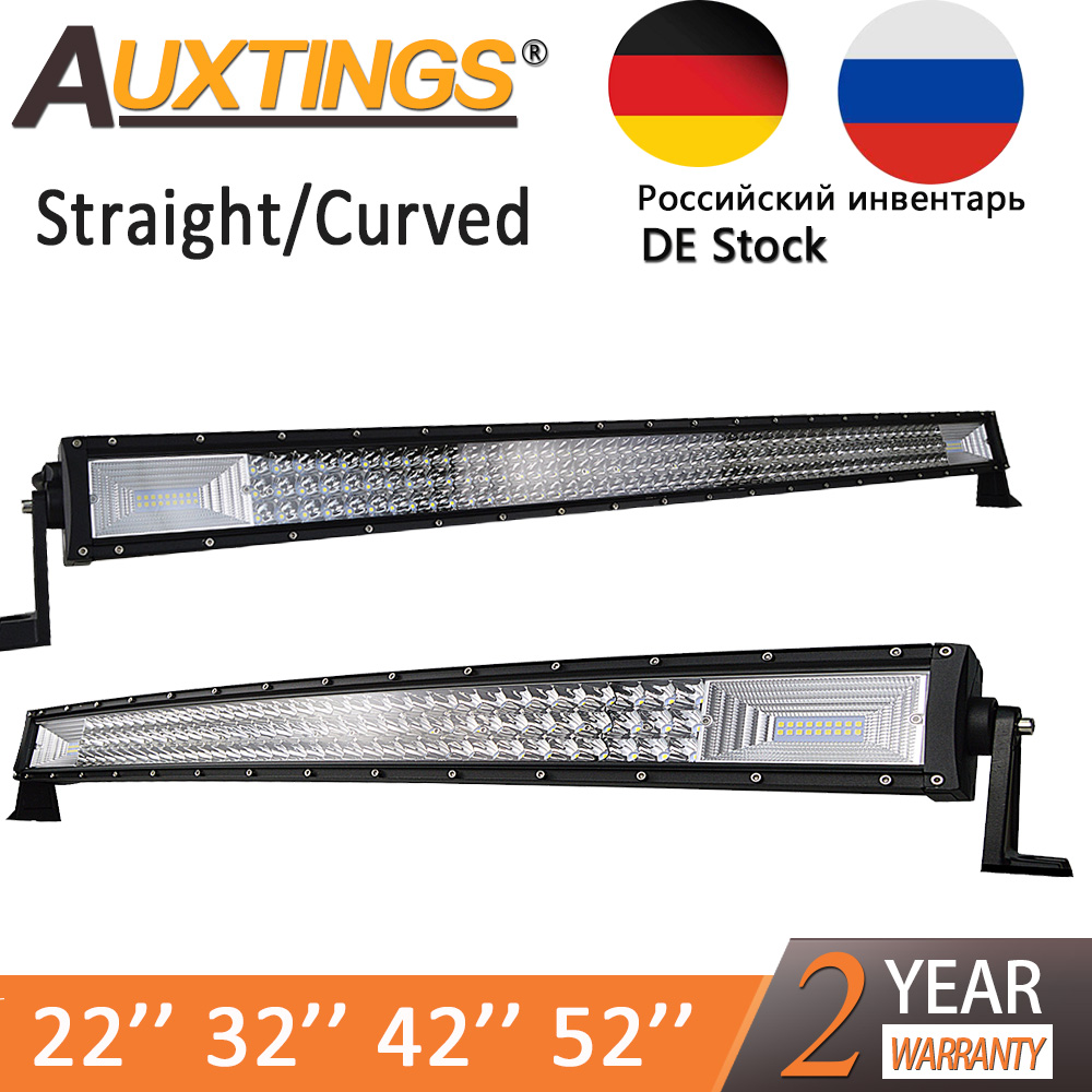 Auxtings Straight/Curved Led Light Bar 22