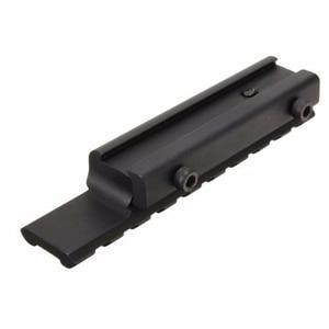 Image 5 - Przedłużacz jaskółczy ogon Weaver Picatinny Rail Adapter 11mm do 20mm Extensible Tactical Scope podstawy góra do polowania na karabin/wiatrówka