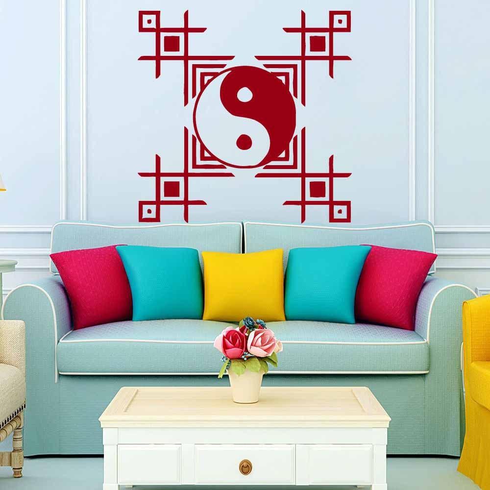 Mandala-Wall-Sticker-Home-Decal-Buddha-Yin-Yang-Floral-Yoga-Meditation-Vinyl-Decal-Wall-Art-Mural (11)