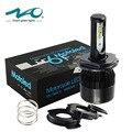 4000LM LED linterna de la motocicleta H4 HS1 moto luz 36 W BA20D lámpara de cabeza para ktm exc cafe racer harley NAO marca # M6F