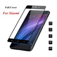 Full Cover Tempered Glass For Xiaomi Redmi Note 4X 4 Pro 4A Prime 3 3S 3X Note 2 3 4 Mi5 Mi4 Mi5S Mi5x Mi6 mia1 Protective Film