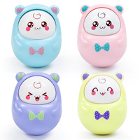 Baby Toys 0 12 Months Rattles Nodding Tumbler Doll Bell Music Learning