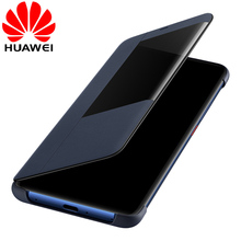 Huawei Mate 20 Pro Flip Case Cover Original Huawei Mate 20 case Smart Touch clear View Leather phone Case mate20 funda capa bag