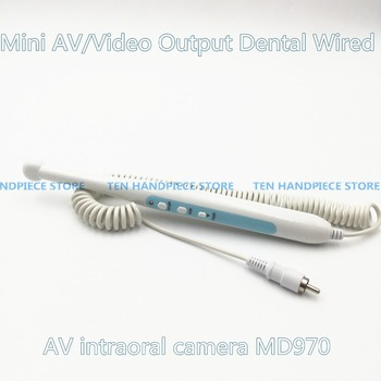 2018 good quality Mini AV/Video Output Dental Wired AV intraoral camera MD970 Video/RCA Rechargeable Intra Oral Camera