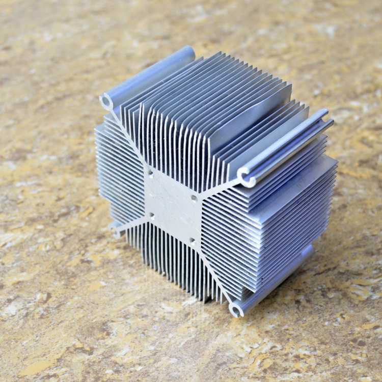 Fast Free Ship Thick dense tooth type radiator aluminum heat sink/cooling fan block 90mm*50MM 12-22w radiator flower ridge north bridge heat sink aluminum zero total compatible with fan noise