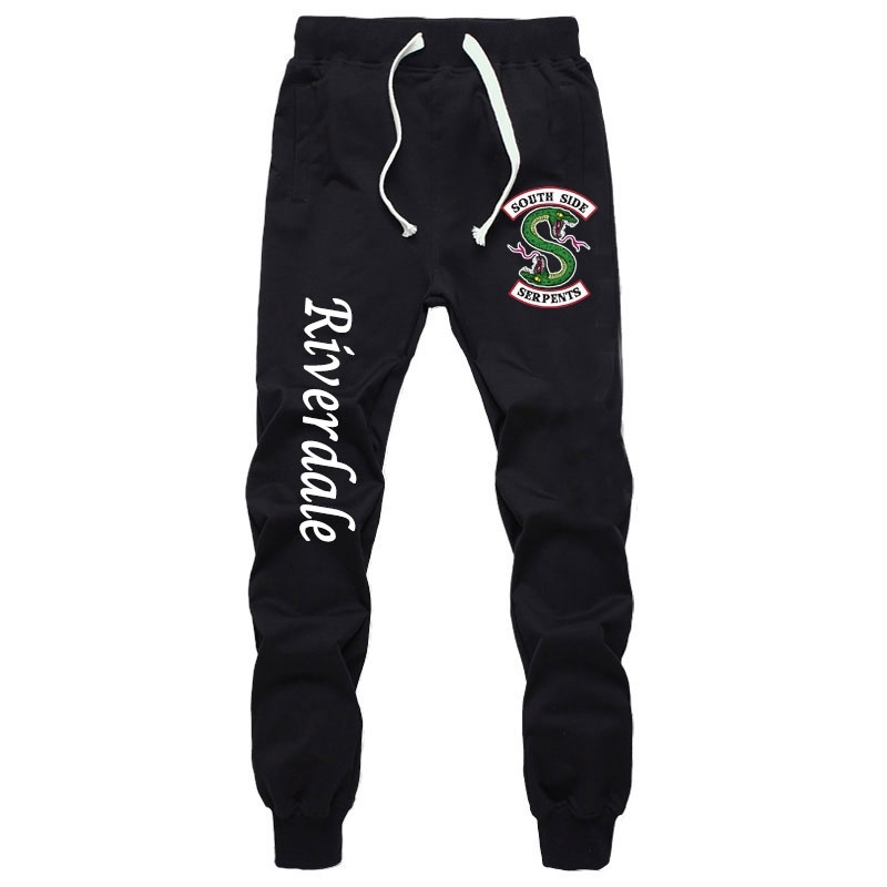 New Summer Fashion Sports Sweat Breathable Pants Anime Riverdale Pants Jogger Jogging Long Pants