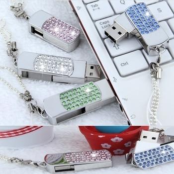 Usb 2TB Flash Drive Jewelry Creativo 64GB 8GB 16GB 32GB USB 3.0 Flash Memory Stick Drive Disk Key Flash Drive 1TB 128GB Pendrive