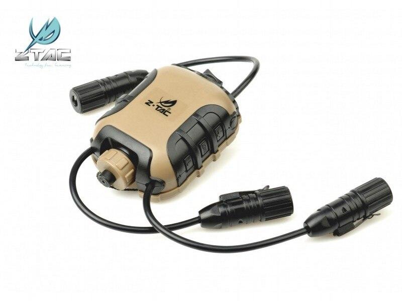 Lite Militar Airsoft Paintball Caça Acessório Fone de ouvido Z118