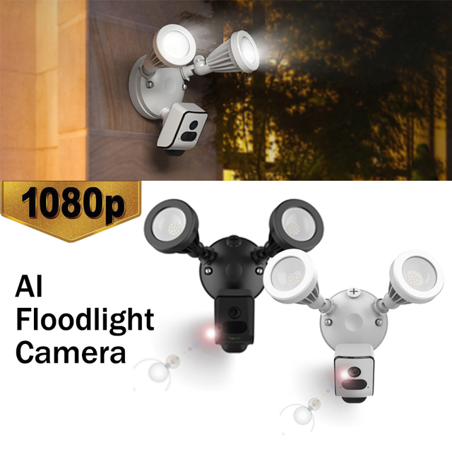 New 1080p Wifi Wall Light Outdoor Lights Led Waterproof Camera Porch Lamp Security Energy Saving