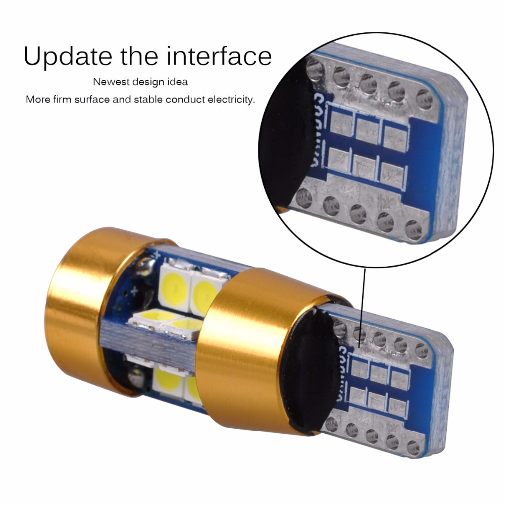 AutoEC 2x Yeni Yüksək keyfiyyətli T10 19 SMD 3030 LED W5W 2825 192 - Avtomobil işıqları - Fotoqrafiya 6