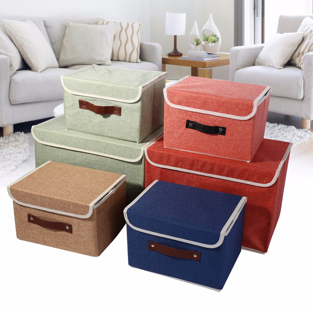 Clothing Organizer Storage Box 2 Colors Green Red Drawer
