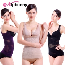 Aipbunny Seemless Faja Shapewear Bodyshaper Lingerie Breathable Sexy Trainer Gaine Reductora Belt Waist Up Tops  Push Slimming
