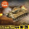 Poder mágico Modelo Em Escala 1: 72 Escala Modelo de Tanque Do Exército DOS EUA M-26 Pershing Pesado Tanque Modelo de Tanque Modelo 36601 Terminou Estática coleção