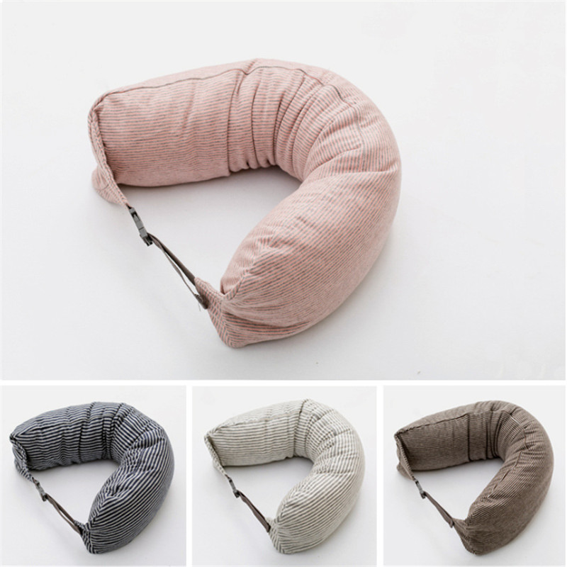ushape pillow travel neck pillow cotton pillows massager japan travesseiro almohada u pillow