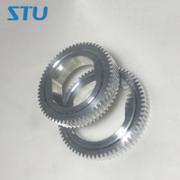 1set New Compatible Aluminum Helical and Straight tooth Upper Fuser Roller Gear for Xerox DC4110 4112 1100 4595 4127 D95 9000