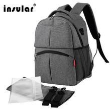 Mochila da moda sacos de fraldas para a mãe do bebê mochila para viagens multifuncional saco mãe múmia saco de fraldas mochila bebe maternidade