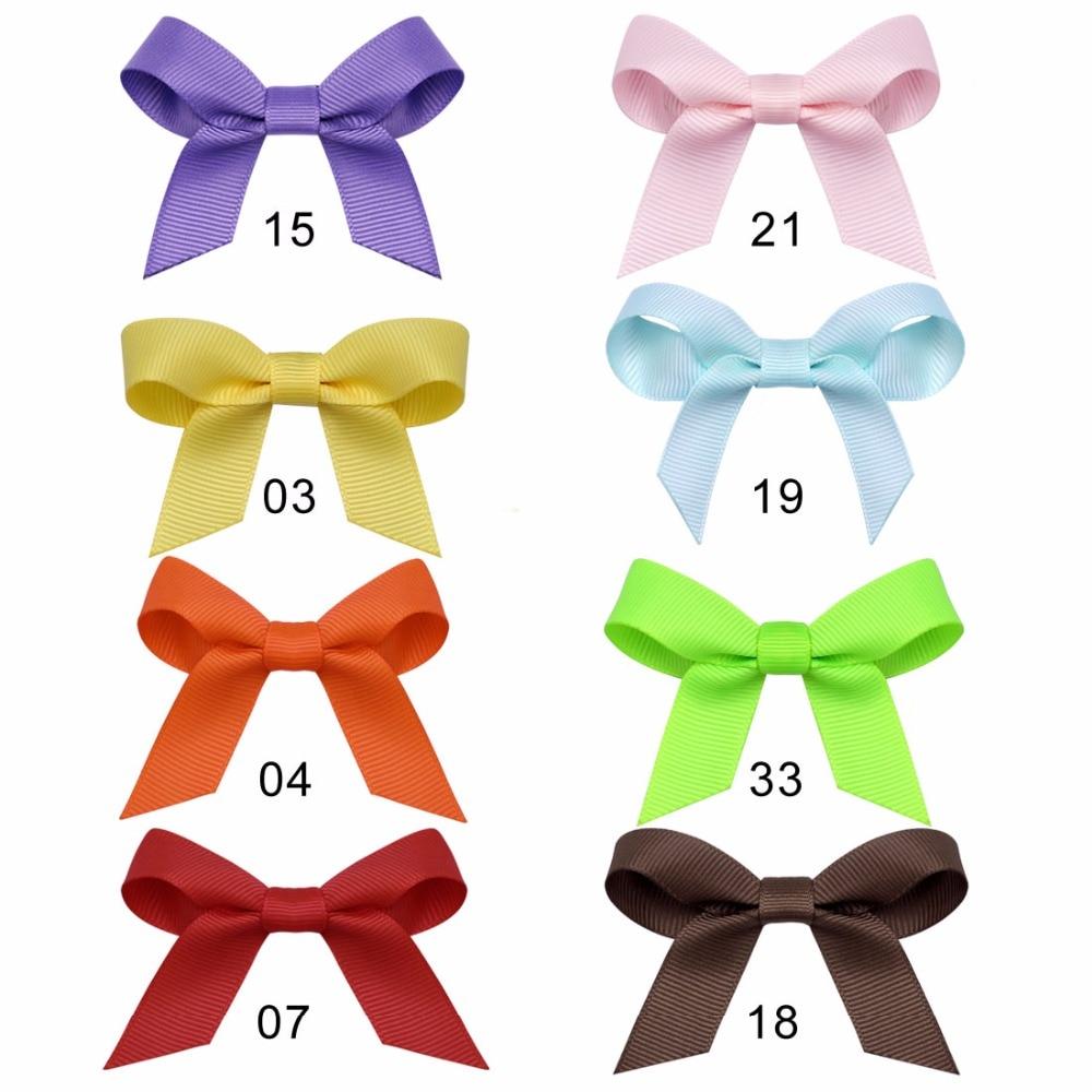 8 colors/set New Kids Children Accessories Hairpins Barrettes Baby Fabric Bow Flower   Headwear   Hair clips Girls Headdress