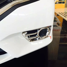 ABS Chrome Front Foglight Cover For Honda For Greiz 2015 Car Exterior Decoration Accessories