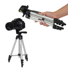 LANVEIN tripod Common Moveable Digital Digicam Camcorder Tripod Stand Light-weight Aluminum for Canon Nikon Sony