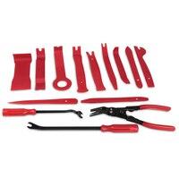 11pcs Radio Door Clip Panel Trim Removal Tool Kit Plastic Fastener Remover Tool