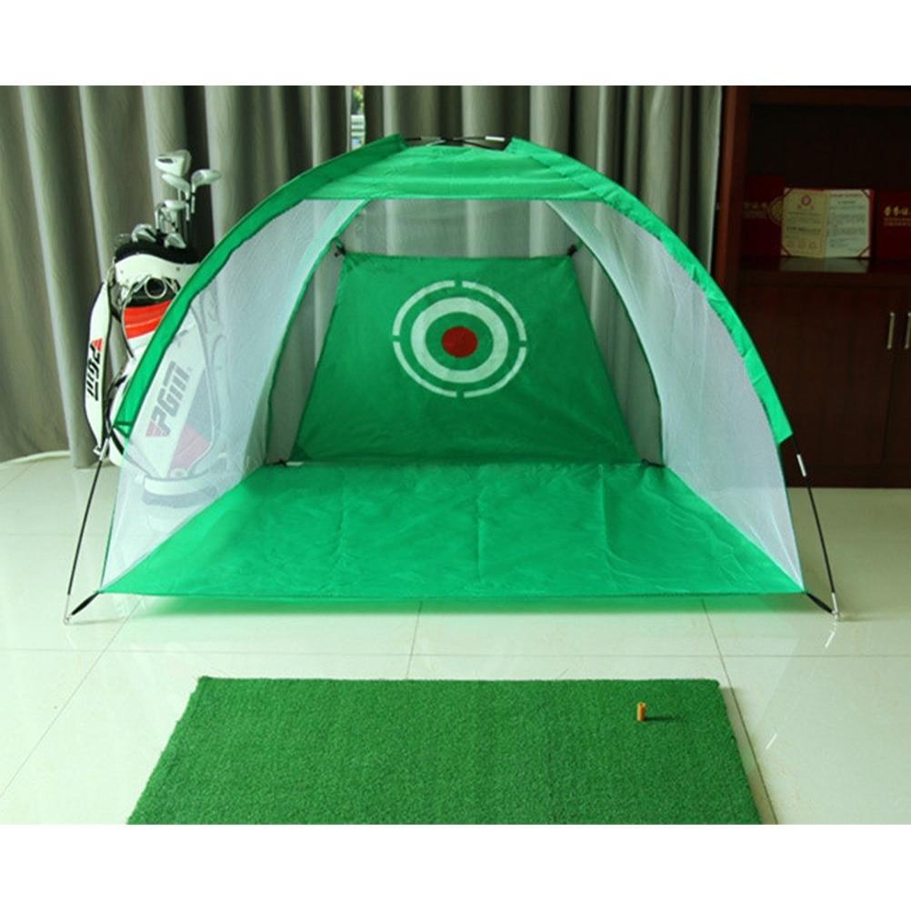 Foldable Outdoor Indoor Golf Net Cage Golf Hitting Net Pop ...