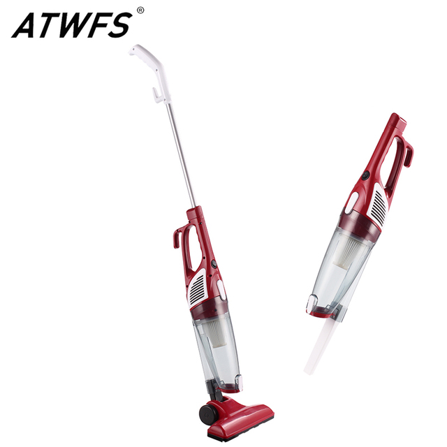 ATWFS Ultra Quiet Strength Mini Home Rod Vacuum Cleaner Portable Dust Collector Household Aspirator Hand Vacuum Cleaner