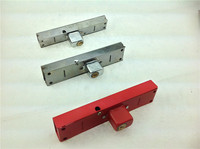Security Folding Sliding Gate Lock With Double Bolts