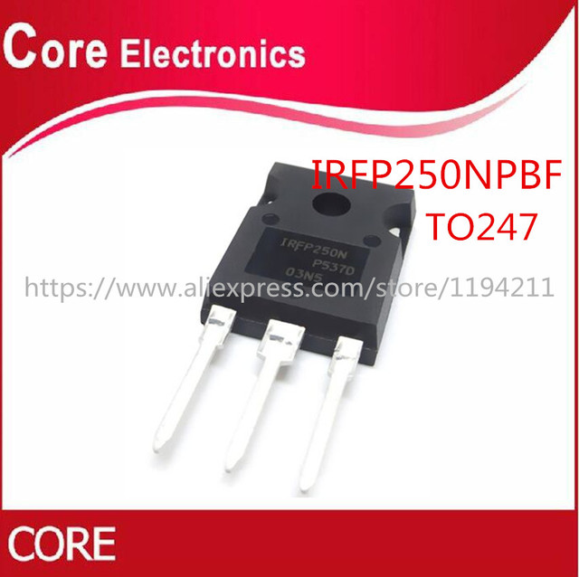 100PCS IRFP250N TO 3P IRFP250NPBF IRFP250 TO247 IC