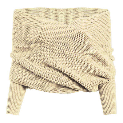 38a5e5a454 Dropwow Danjeaner Long Sleeve Sweaters Women 2018 Autumn Sexy Off ...