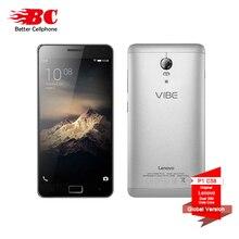 "Lenovo Original Vibe C58 P1 4G Teléfono Celular Snapdragon 615 Octa Core 1.5 GHz Android 6.0 1920×1080 p 5.5 ""2GB RAM 16 GB 13.0MP cámara"