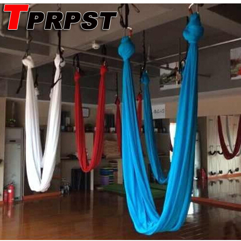 1M Length Width 2.8m Aerial Flying Yoga Hammock Fabric Swing Trapeze Anti-Gravity Inversion Aerial Traction Touch Device 103