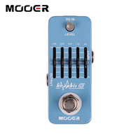 Mooer Graphic G 5 Band Smallest Guitar Graphic Equalizer Pedal Guitar effect pedal