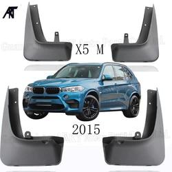 4 sztuk Mud Flap dla 2015 BMW X5 M Sport przód tył formowane błotniki Mud Flap błotniki Splash Guards błotniki fender Błotniki Samochody i motocykle -