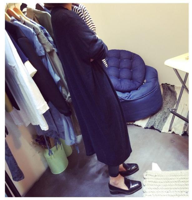 New Fashion 2017 Not Sale Gray Black Cardigan Women Sweater Casual  Plus Size Women Coat Long Sweaters Cardigans SW100