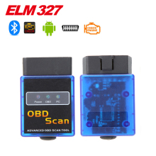 2016 High Quality Super Mini ELM327 Bluetooth V1.5 OBD2 Auto Code Reader Mini 327 Car diagnostic interface ELM 327 Bluetooth