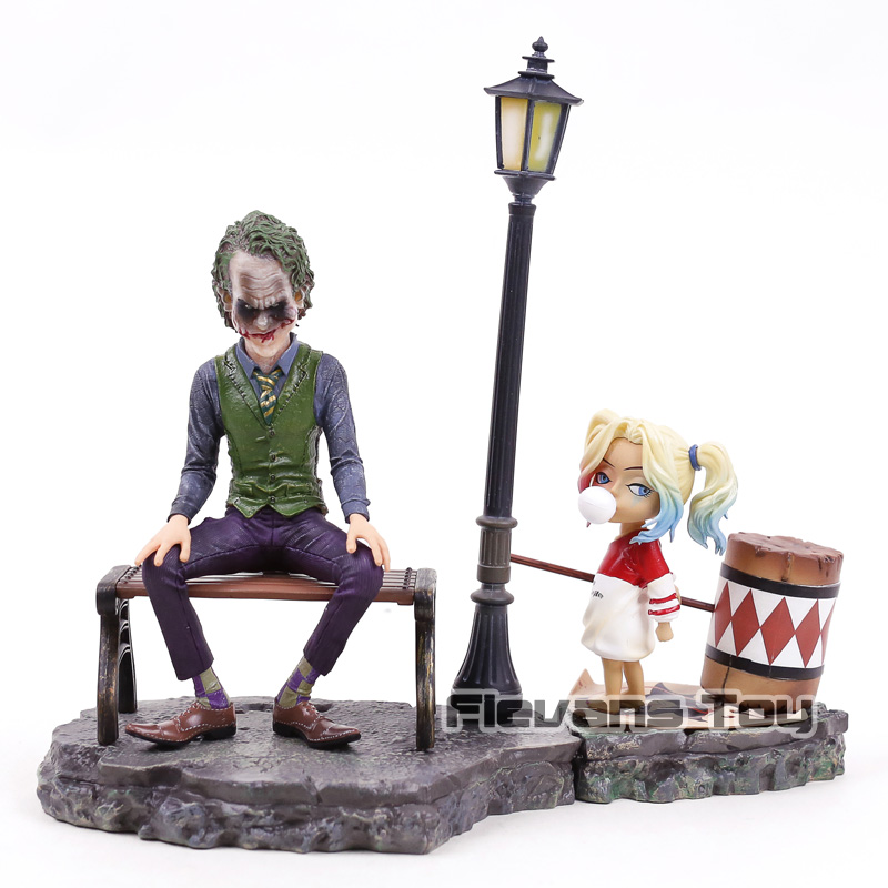 DC Suicide Squad Character Joker & Harley Quinn PVC Figure Model Toys for Collection suicide squad harley quinn boots bota accessories black women for harley shoes harley quinn costume cosplay suicide squad