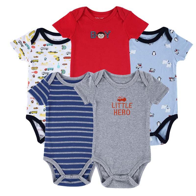 Baby-Bodysuits-Newborn-Ropa-Bebe-5pcs-lot-100-Cotton-Raccoon-Body-Babies-Boy-Girl-Boy-Baby-Bodysuits-0-12-Months-Baby-Clothes-1