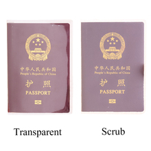 Fashion Travel Waterproof Dirt Passport Holder Cover Wallet Transparent PVC ID Card Holder Business Credit Card Case Pouch waterproof pvc transparent passport cover case women travel id card holders business credit card holder
