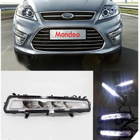High Quality LED Daytime Running Lights Front Fog Lamp Fog Lights For 2011 2012 Ford Mondeo