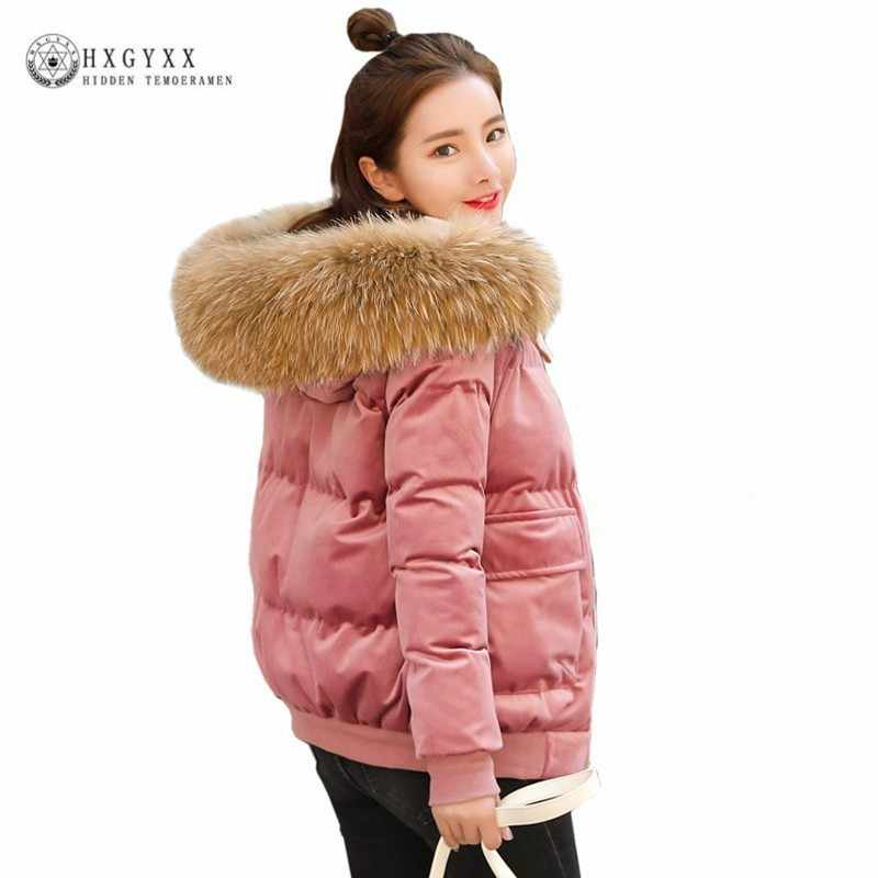 f97ea0c31 Detail Feedback Questions about Real Fur Collar Down Cotton Coat ...