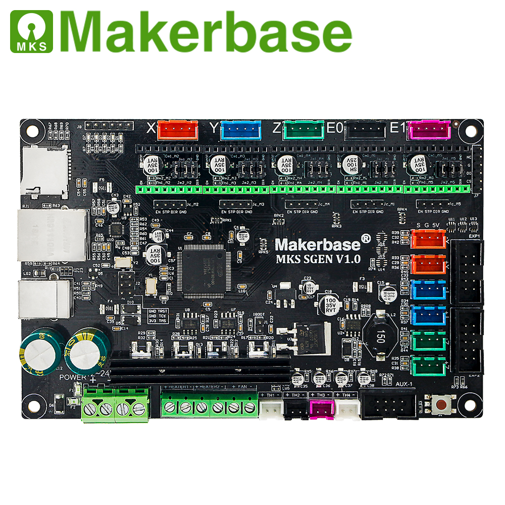 cheapest Makerbase MKS SGen 32bit controller board 3D printer board hardware marlin2 0 and smoothieware firmware With TMC2208 TMC2209