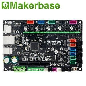 Image 3 - Makerbase MKS SGen 32bit لوحة تحكم لوحة طابعة ثلاثية الأبعاد الأجهزة marlin2.0 و سموثيواري الثابتة مع TMC2208 TMC2209