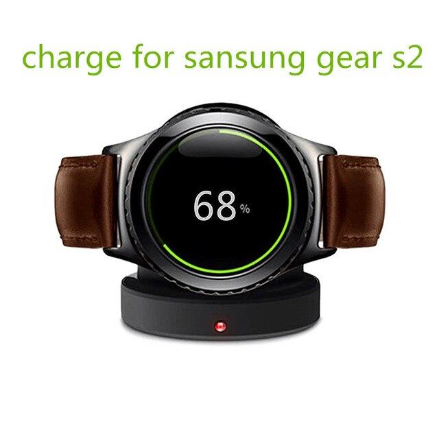 Carregador sem fio para samsung gear s2 carregador para samsung gear s2 doca de carregamento para samsung smart relógios com micro usb carregador